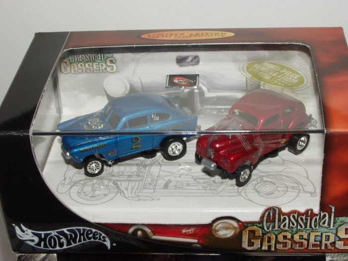 Hot Wheels 100% Collectibles Classical Gassers Set 1/64 Scale