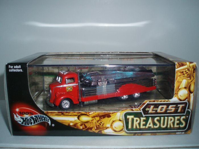 Hot Wheels 100% Collectibles Lost Treasures Set 1/64 Scale