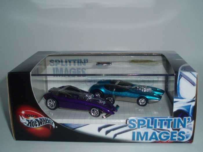 Hot Wheels 100% Splittin' Images Collectors Set 1/64 Scale