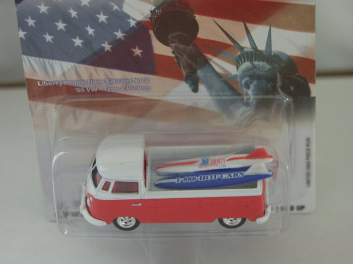 Johnny Lightning Liberty Promotions Special Edition '65 VW Type 2 Pickup