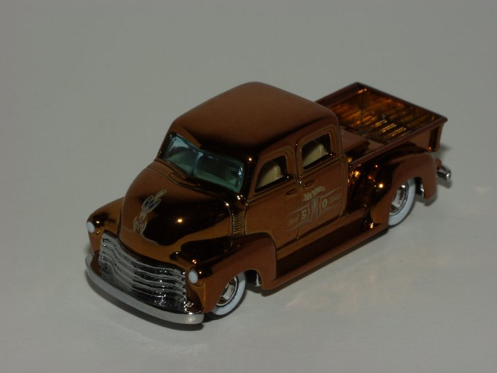 Hot Wheels 2007 HWC '50s Chevy Truck Real Riders 1/64 Scale Loose