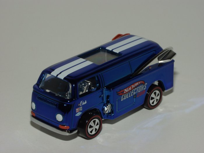 Hot Wheels 2006 Redline Club Beach Bomb Too Blue 1/64 Scale Loose