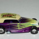 Hot wheels 2000 Early Times Mid Winter Rod Run Phaeton Purple 1/64 Scale Loose