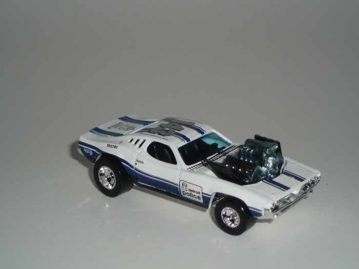 Hot Wheels K-B Toys Cop Rods Series 2 Rodger Dodger Real Riders 1/64 Scale Loose