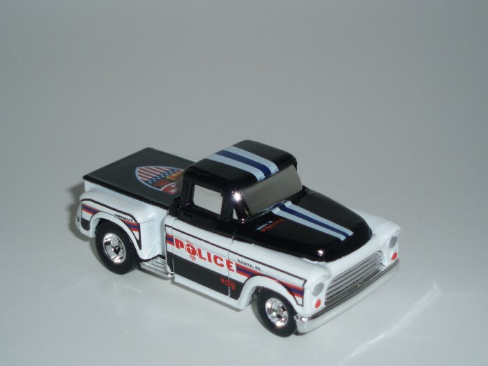 Hot Wheels K-B Toys Cop Rods Series 2 '56 Flashsider Real Riders 1/64 Scale Loose