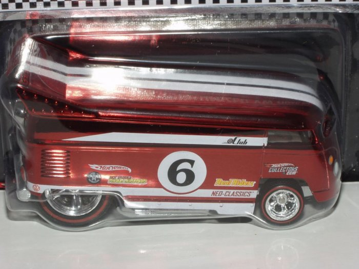 2006 Hot Wheels Redline Club Customized VW Drag Bus-Red