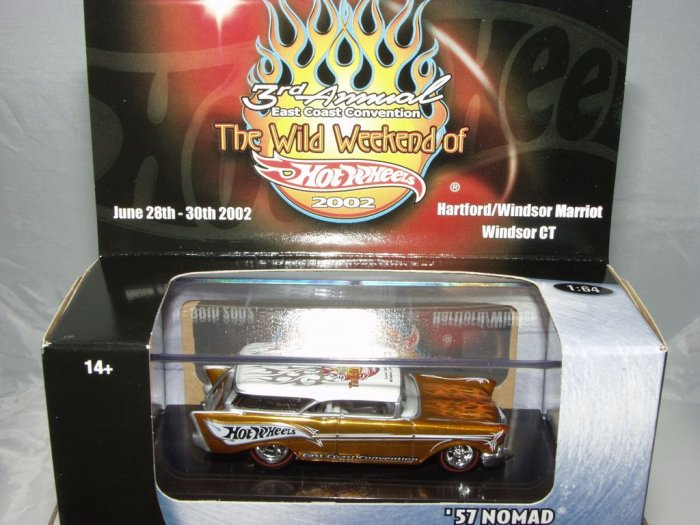 2002 3rd Annual Wild Weekend of Hot Wheels '57 Nomad Black Box