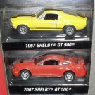 Greenlight Shelby Mustang GT-500 Factory 2 Pack