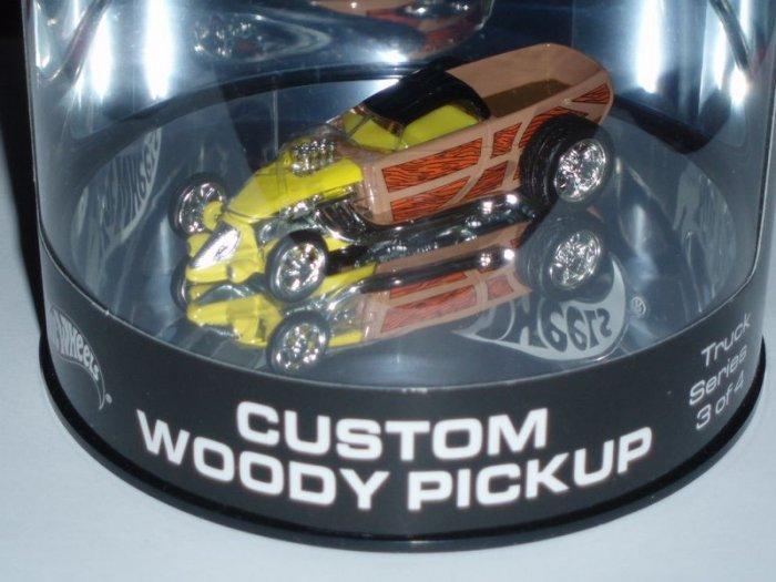 2004 Hot Wheels Showcase Custom Woody Pickup...Yellow