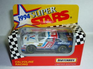1994 Series II White Rose Collectibles Matchbox Super Stars Valvoline #6