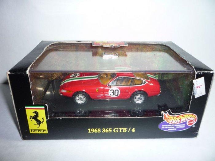 Hot Wheels 1968 Ferrari 365 GTB/4 1/43 Scale