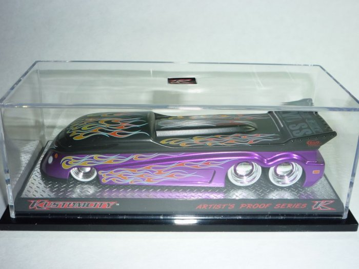 KUSTOMCITY® EVO SS DRAG BUS Artist Proof 2 - KW-01 Purple #53/984