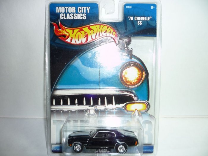 2002 Hot Wheels Motor City Classics '70 Chevelle SS...Black