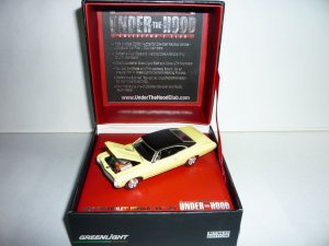Greenlight Collectibles Under The Hood Collector's Club '67 Chevrolet Impala SS 427...Yellow