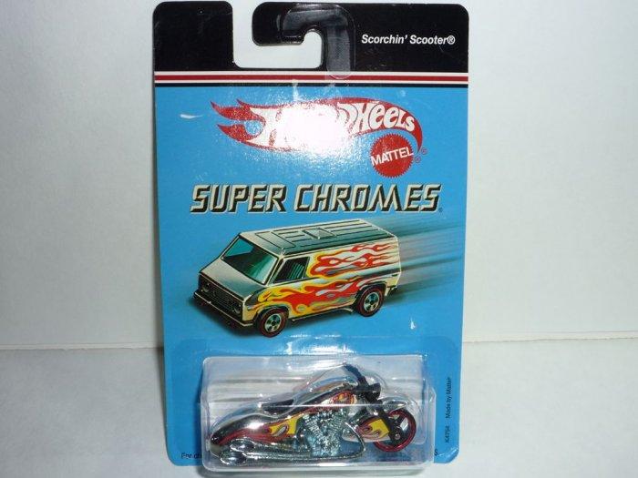 2006 Hot Wheels Super Chromes Series Scorchin' Scooter...Chrome