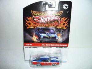 Hot Wheels Drag Strip Demons...Sox & Martin Barracuda