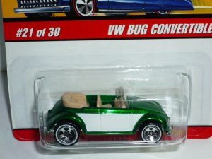 Hot Wheels Classics Series 2 VW Bug Convertible...Green
