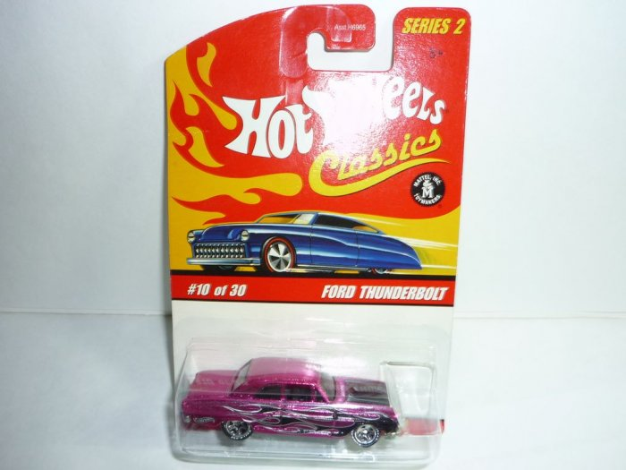 Hot Wheels Classics Series 2 Ford Thunderbolt...Pink
