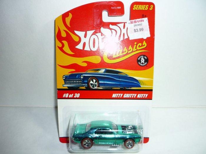 Hot Wheels Classics Series 3 Nitty Gritty Kitty...Aqua