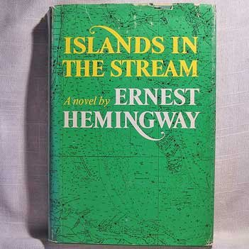 Islands In The Stream Ernest Hemingway Classic Author 1970 Book HC/DJ