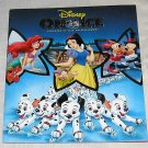 Disney On Ice Live Show Program Mickey Minnie Dalmatians Little Mermaid OOP