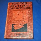Doctor Dolittle and the Secret Lake Hugh Lofting 1948 1st Ed Classic Children&#39;s Story Book Illus