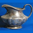 Vintage Art Deco Nickel Silver Creamer Holden Hotel Co Albert Pick 1928