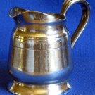 Vintage Hotel Ambassador Creamer Syrup Pitcher Reed & Barton Silver Soldered