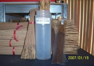 25 Hand-Dipped Incense Sticks - Frankincense - Long Burning - Free Shipping!