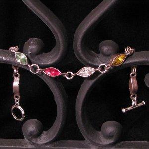 Antique Sterling Silver Navarette Bracelet