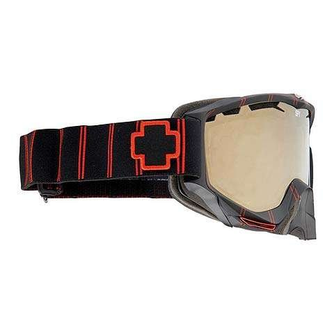 Spy Omega Goggles Red Stripe (Bronze/ Gold Mirror)