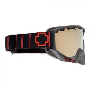 Spy Omega Goggles Red Stripe (Bronze/ Gold Mirror)