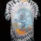 THE ROLLING STONES Tie Dye Concert Tour T Shirt L Large