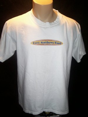 DMB Dave Matthews Band 00 Tour Concert T Shirt Medium