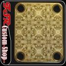 (G0006) GOLD 4 BOLT GUITAR/BASS NECK PLATE