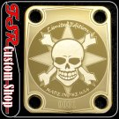 (G0002) GOLD SKULL LIMITED EDITION fit 4 BOLT NECK/BODY GUITAR