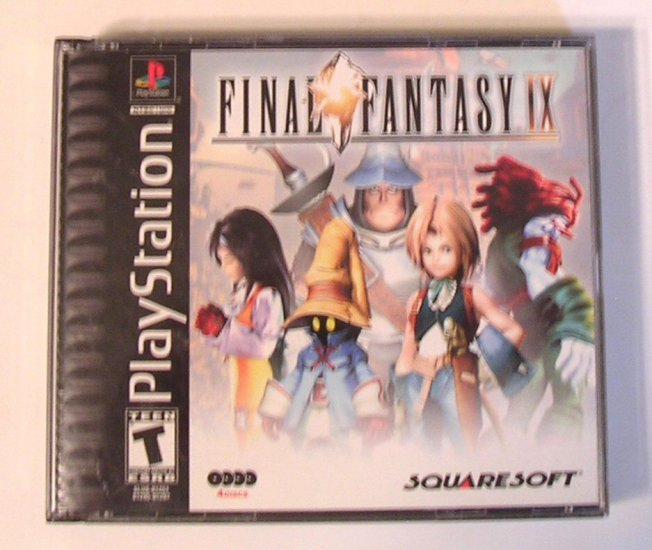 SOLD Final Fantasy IX Final Fantasy 9  RPG Video Game Complete with Instructions SOLD!!!