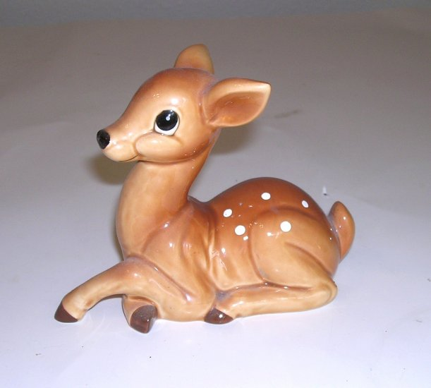 Vintage Norcrest Japan Spotted Fawn Deer Figurine