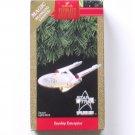 Hallmark Star Trek 25th Aniversary Starship Enterprise Christmas Ornament 1991