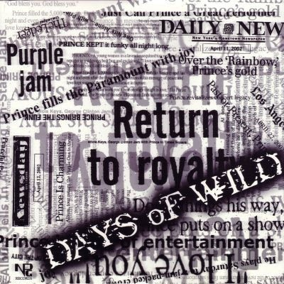 "Prince & The NPG Days Of Wild 12"""" Single"