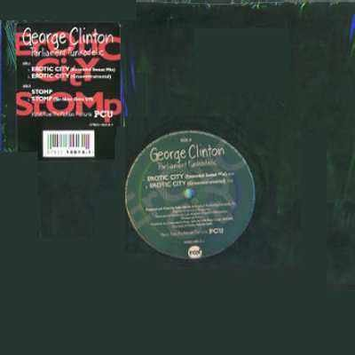 "George Clinton Erotic City 12"""" Single"