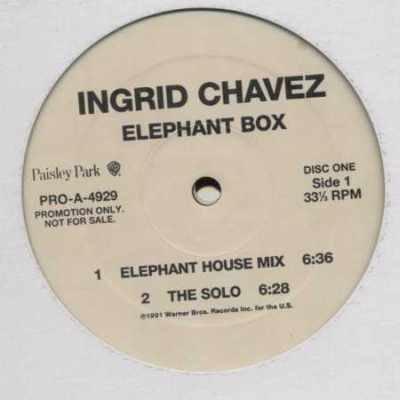 "Ingrid Chavez Elephant Box PromoDBL 12"""" Singl"