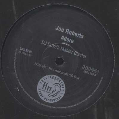 "Joe Roberts Adore Promo12"""" Single"