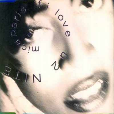 "Mica Paris If I Luv U 2 Nite 12"""" Single"