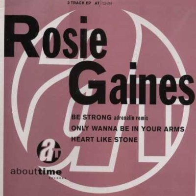 "Rosie Gaines Be Strong 12"""" Single"