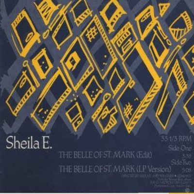 "Sheila E The Belle Of St. Mark Promo12"""" Singl"