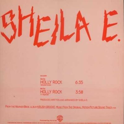"Sheila E Holly Rock Promo12"""" Single"