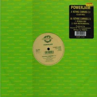 "Powerjam Nothing Compares 2 U 12"""" Single"
