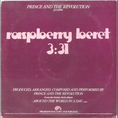 Prince and The Revolution Raspberry Beret Pro