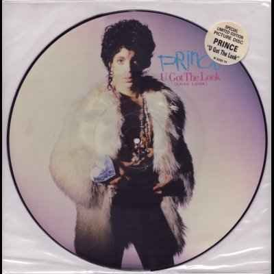 "Prince U Got The Look 12"""" Picture Disc"